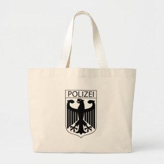 POLIZEI - German Police Symbol Gifts Jumbo Tote Bag