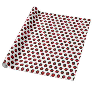 Polka Bug Wrapping Paper