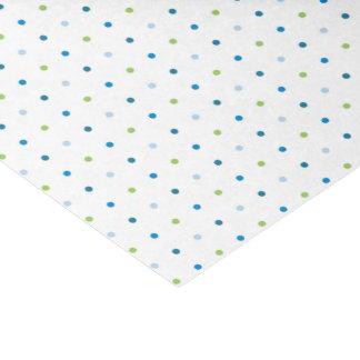 Polka Dot Baby Shower Tissue Paper Boy