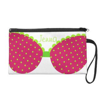 Polka Dot Bikini Bags Wristlet Purses