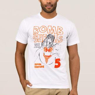 Polka dot bikini orange T-Shirt
