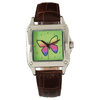 Polka Dot Butterfly by Julie Everhart Watch