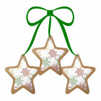 Polka Dot Christmas Cookies Acrylic Cut Out