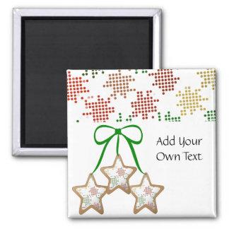Polka Dot Christmas Cookies Magnet