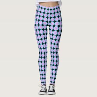 Polka Dot Circle Leggings