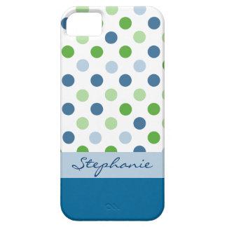 Polka Dot Custom iPhone 5 Case