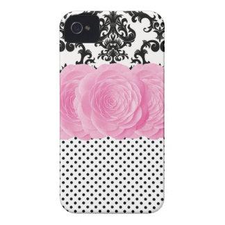 Polka Dot Damask iPhone 4 Case