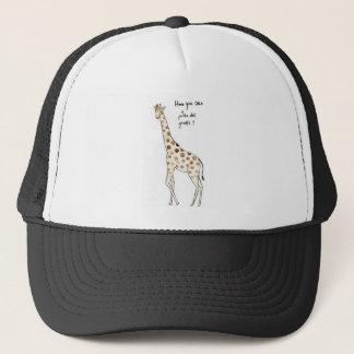 Polka Dot giraffe Trucker Hat