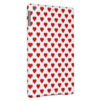 Polka Dot Hearts Cover For iPad Air