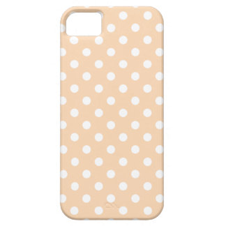 Polka Dot iPhone 5 Case in Apricot