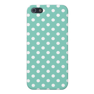 Polka Dot iPhone 5 Case in Turquoise