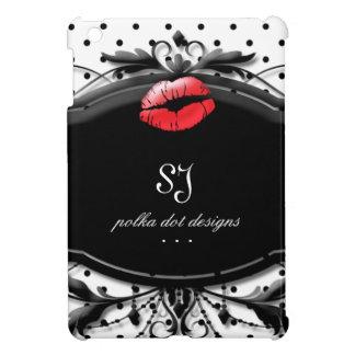 Polka Dot Makeup Lips Cool Ipad Case