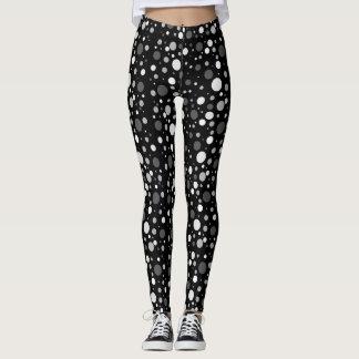 Polka Dot Monochrome Leggings