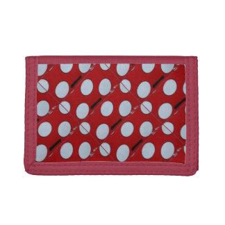 Polka Dot Nylon Wallet