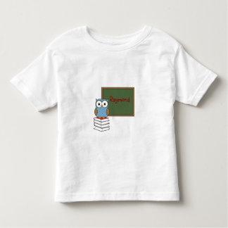 Polka Dot Owl with Chalkboard Toddler T-shirt