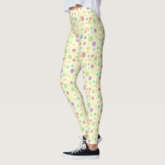 Polka Dot Pastel Leggings