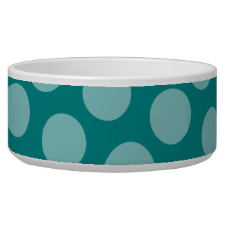 Polka Dot Pattern Pet Bowl