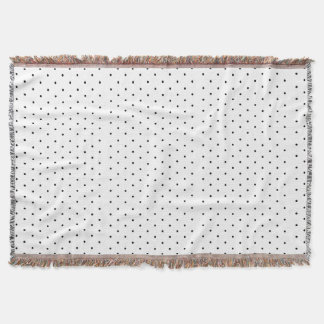 Polka Dot Pattern Throw Blanket