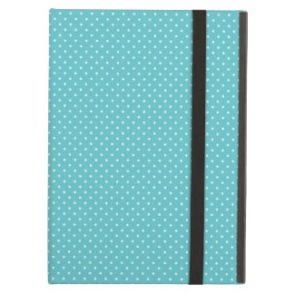 Polka dot pin dots girly chic blue pattern cover for iPad air
