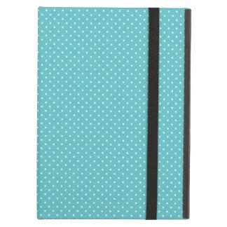 Polka dot pin dots girly chic blue pattern cover for iPad air