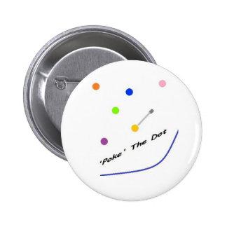 Polka Dot 'Poke The Dot' Spoof Button
