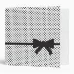 "Polka Dot Present ""2"" Vinyl Binder"