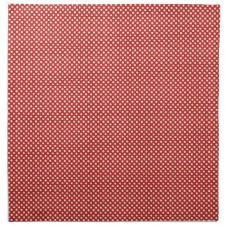 Polka dot printed napkin