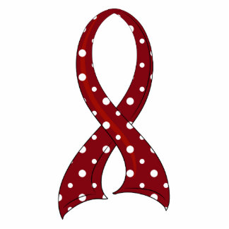 Polka Dot Ribbon Amyloidosis Photo Cut Out