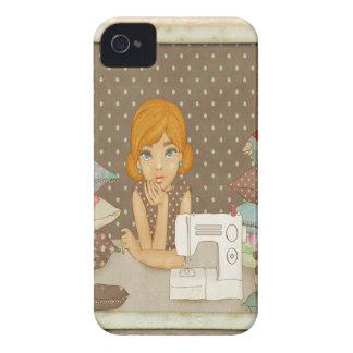 Polka Dot Seamstress iPhone 4 Cover