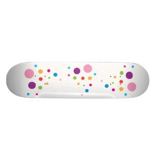 Polka Dot Skateboard