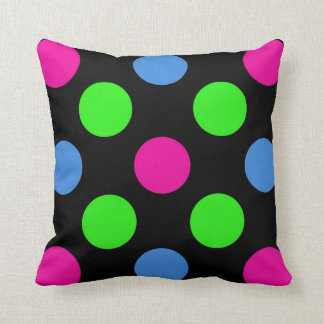 Polka Dot Square Pillow