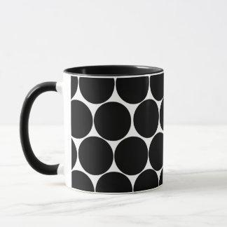 Polka dot style mug