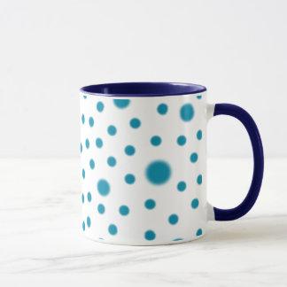 Polka Dot Teal Mug