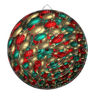 polka dot texture abstract fractal art dartboard