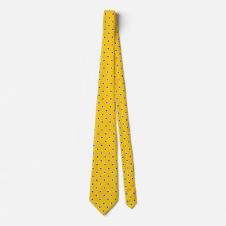 Polka Dot Ties Gold Yellow Purple Colors Design