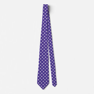 Polka Dot Ties Purple And Pink Colors Pattern
