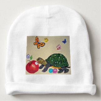 Polka Dot Turtle Design Baby Gift Shabby Chic Baby Beanie