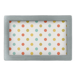 Polka-dots #2 rectangular belt buckles
