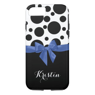 Polka Dots and Bow iPhone 7 Case