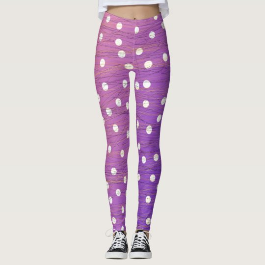 Polka Dots and Scribbles Leggings