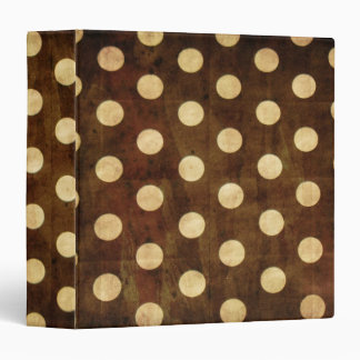 Polka Dots Avery Binder
