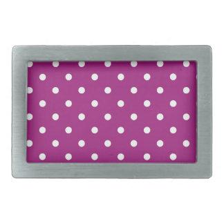 polka-dots belt buckle
