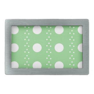 polka dots belt buckle