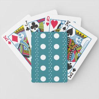 polka dots bicycle playing cards