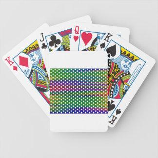 polka-dots bicycle playing cards