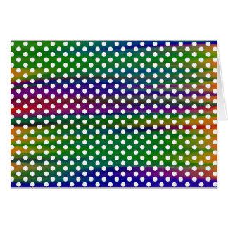 polka-dots card