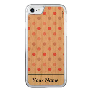 Polka Dots Carved iPhone 8/7 Case