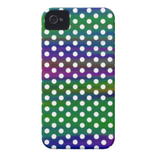 polka-dots Case-Mate iPhone 4 case