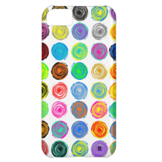 Polka Dots Color Spin iPhone 5Case iPhone 5C Cover