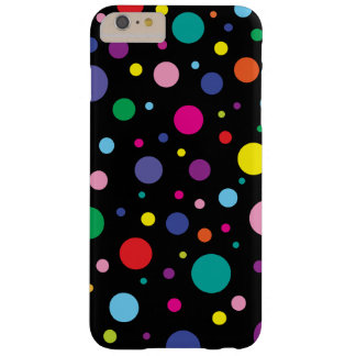 Polka Dots | Customized Background Colour Barely There iPhone 6 Plus Case